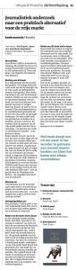 Klik om de recensie te lezen die op 2 oktober 2013 verscheen in dagblad Trouw.