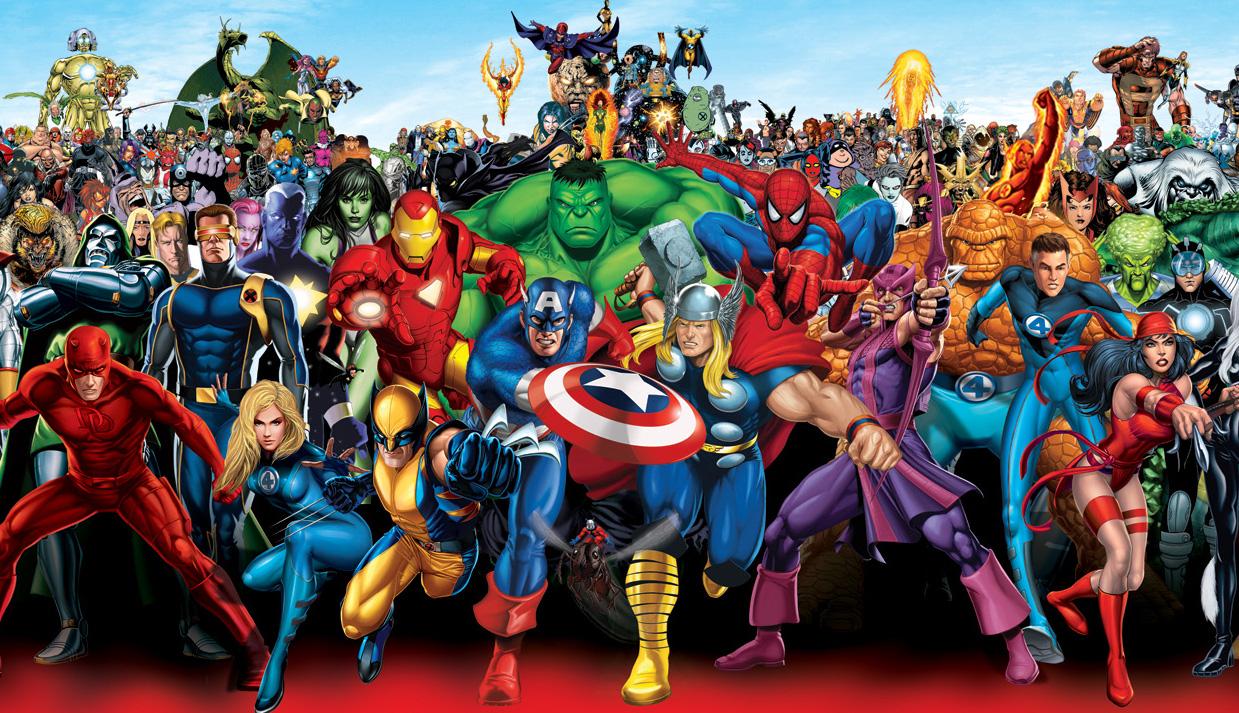 Behalve gewone mensen die helden worden, kent Hollywood ook een kaste van superhelden met superkrachten.