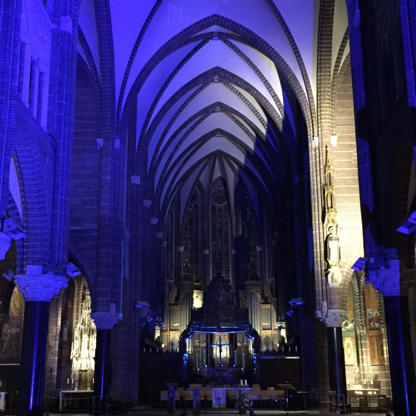 'Blue Monday' in Dominicanenklooster Zwolle