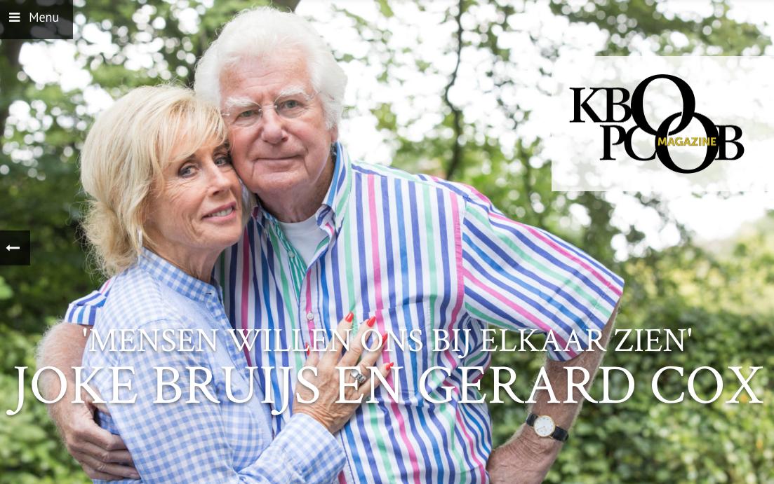 'Vergeet je niet te genieten?' Joke Bruijs en Gerard Cox