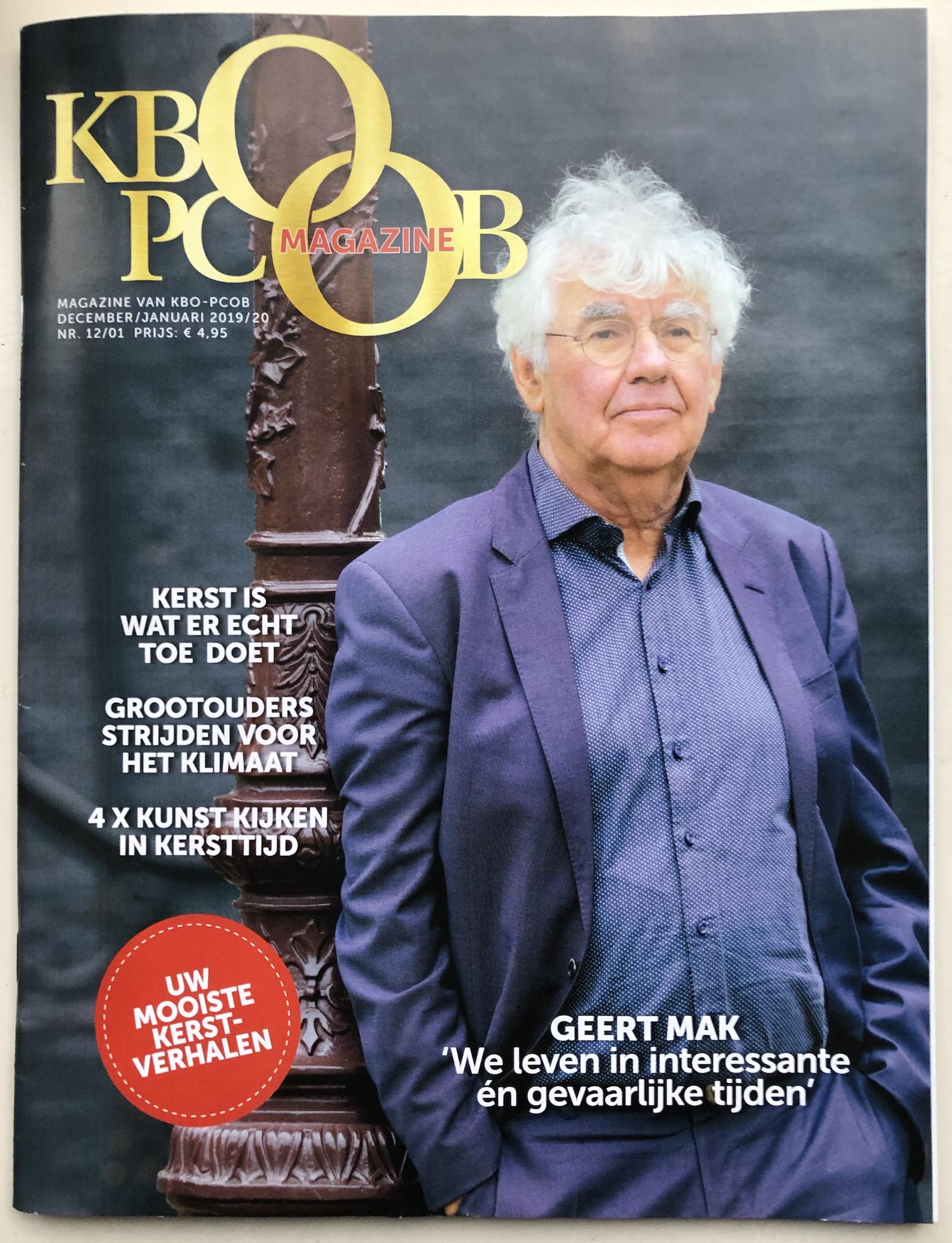 Geert Mak: 'We leven in interessante en gevaarlijke tijden'